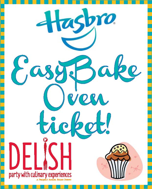 Project Angel Food - Event Sponsorship - Hasbro Easy Bake