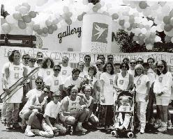 Project Angel Food - History - Volunteers at Pride Parade with Marianne