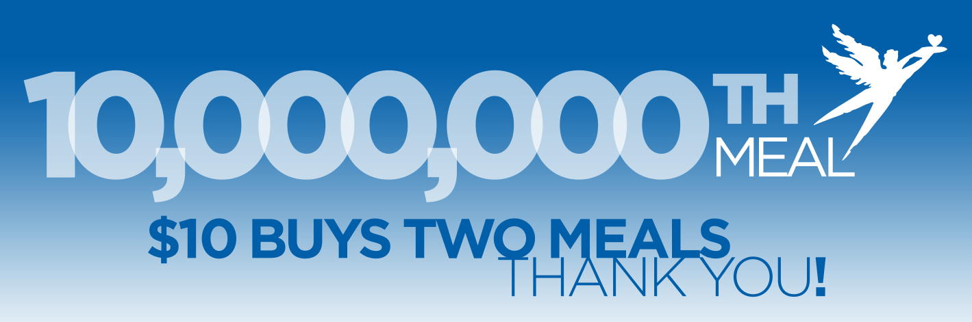 10 Millionth Meal Banner