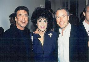 Project Angel Food - History - Celebrity David Geffen and Elizabeth Taylor
